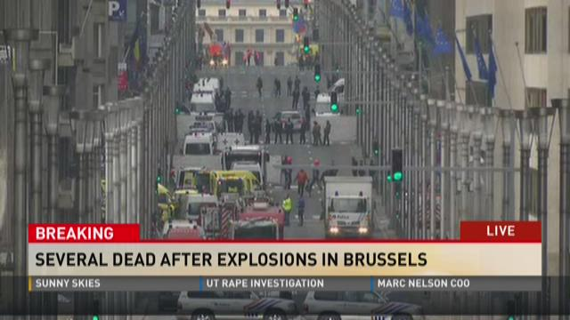 Several dead after explosions in Brussells
