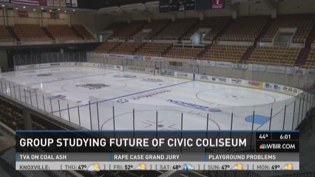 Group studying future of civic coliseum