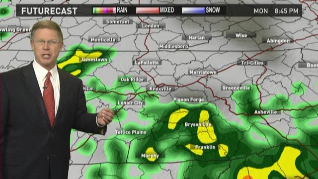 Mild and wet weather expected the next two days ...