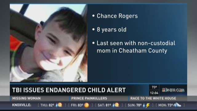 TBI issues endangered child alert for Middle TN boy