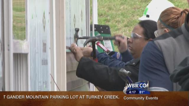 Knoxville Habitat for Humanity Women Build