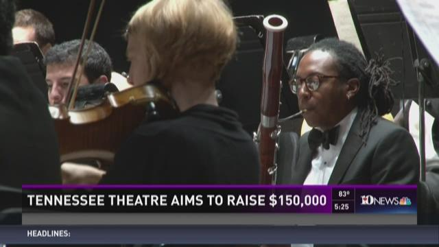 Tennessee Theatre aims to raise $150,000