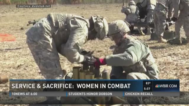 Service & Sacrifice: Women in combat
