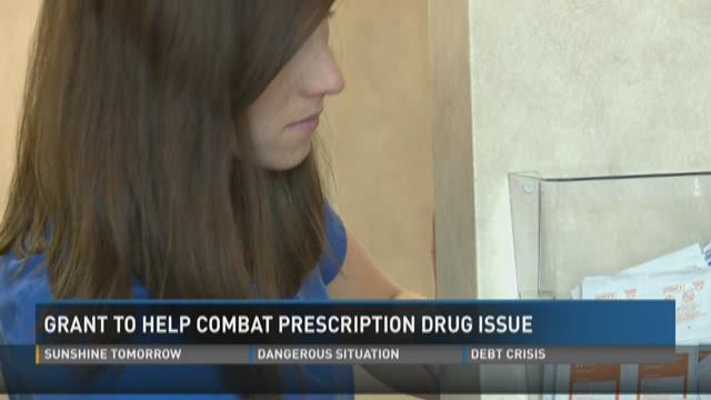 Grant to help combat prescription drug issue