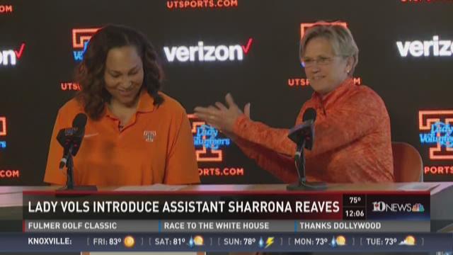Lady Vols introduce Sharrona Reaves