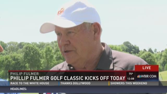 Phillip Fulmer golf classic kicks off Friday
