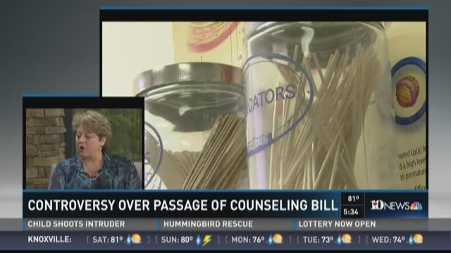 Counseling Bill Controversy