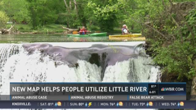 Maps help people utilize Little River