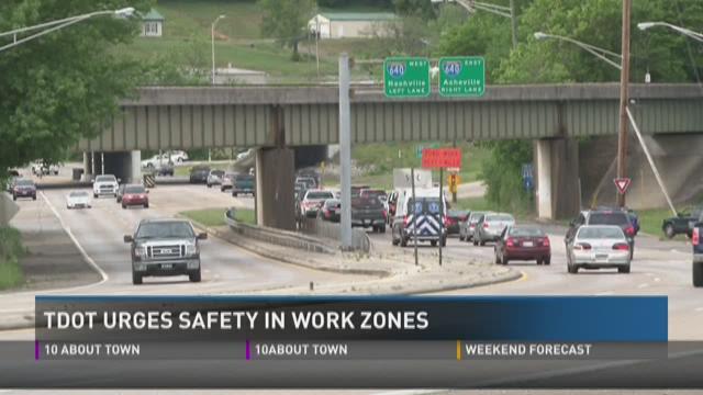 TDOT urges safety in work zones