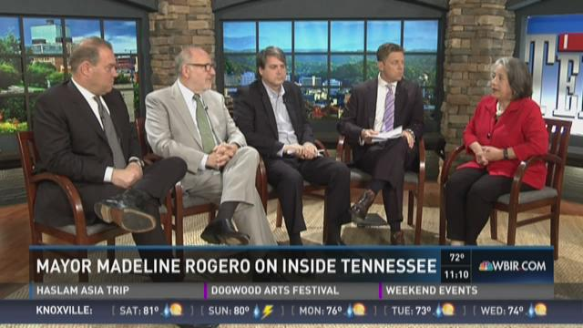 Rogero on Inside Tennessee