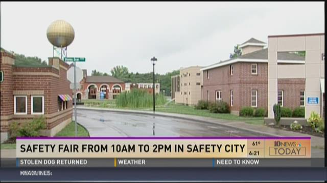 Safety Fair at Safety City