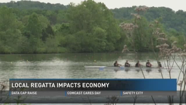 Junior rowing event brings economic boost to Oak Ridge