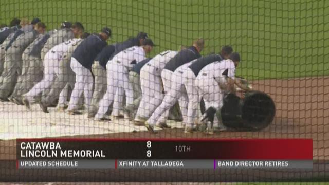 LMU-Catawba baseball game suspended in 10th