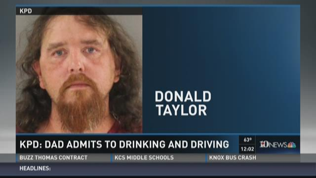 KPD: Dad admits to drinking and driving