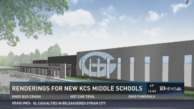 Renderings for new KCS middle schools