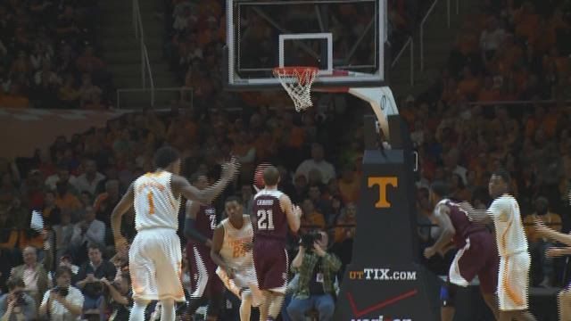 Texas A&M  67,  Tennessee 61  (Final)