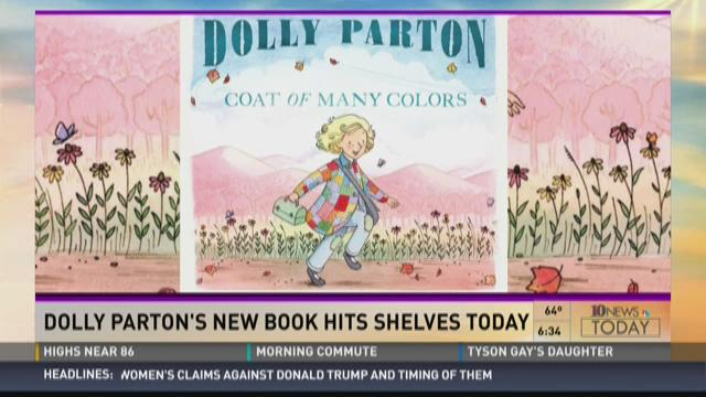 video not supported by this device - Dolly Parton Coat Of Many Colors Book