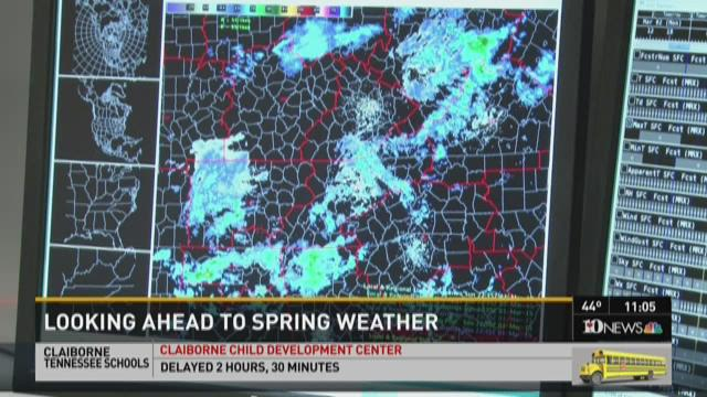Looking ahead to spring weather after a tough February