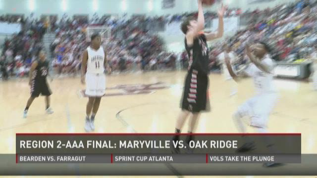 Maryville boys and Farragut girls win regional titles