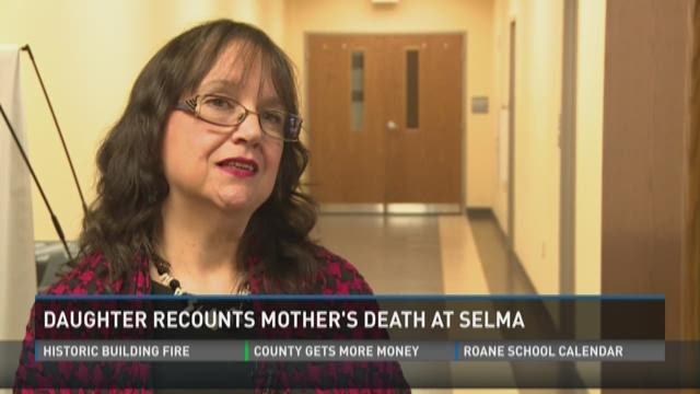 Daughter recounts mother's death at Selma