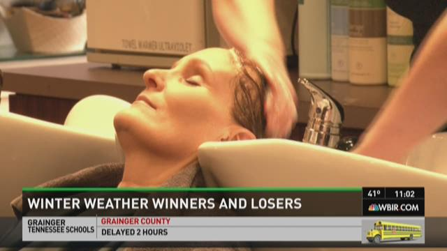 Winter weather winners and losers
