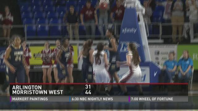 Morristown West girls win state quarterfinal