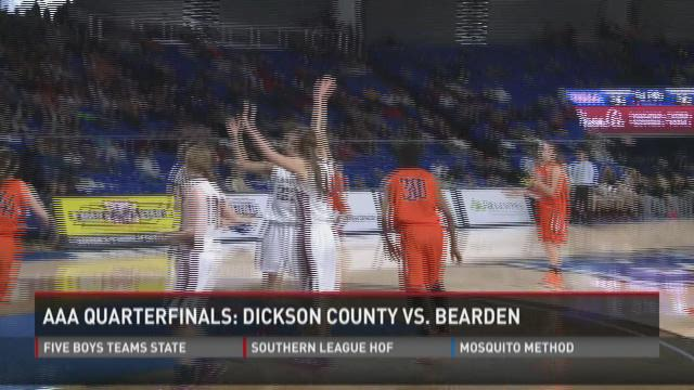 Bearden girls win state quarterfinal game