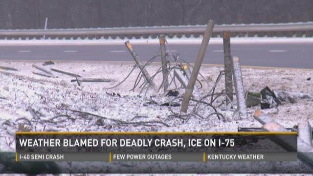 Weather blamed for deadly I-75 crash