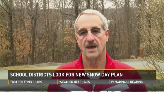 School districts look for new snow day plan