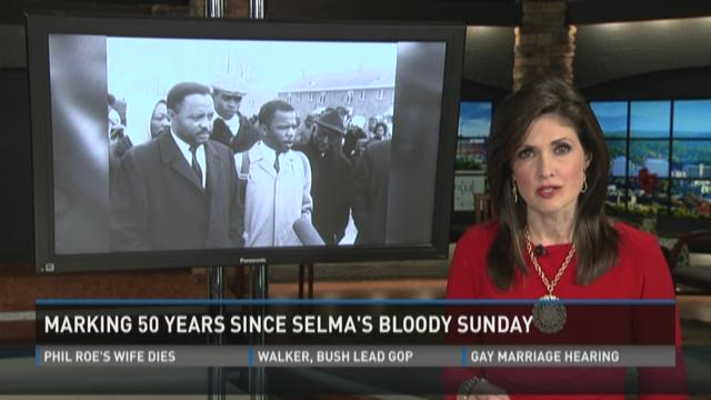 Men to take part in Selma anniversary march