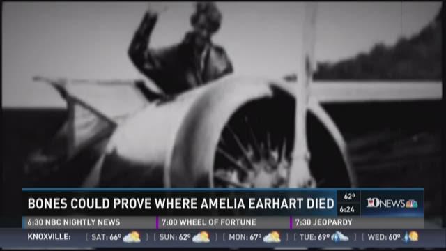 amelia earhart bones found