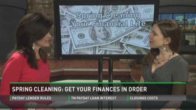 Spring cleaning your finances.