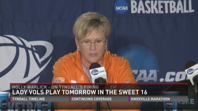"""Holly Warlick: Tyndall 'tremendous coach"""""""