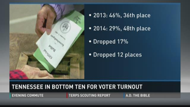 Tennessee voter turnout