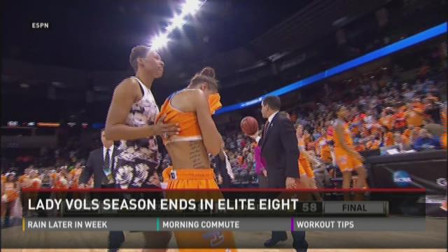 Lady Vols fall short of Final Four