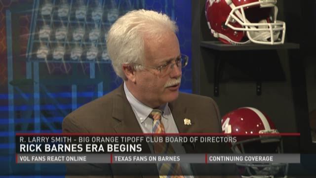 Big Orange Tipoff Club likes Rick Barnes hire