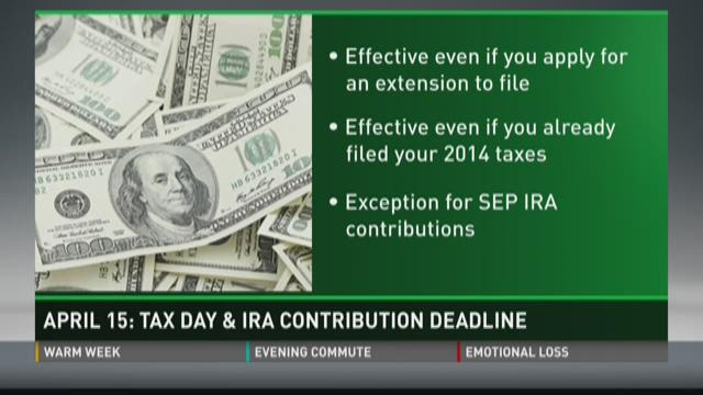 Deadline for 2014 IRA Contributions