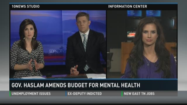 Haslam amends budget to save mental health services