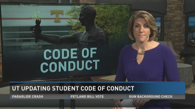 student code of conduct pdf nws