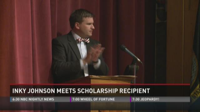Inky Johnson surprises Fulton senior