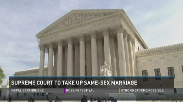 same sex marriage and us supreme court in Knoxville