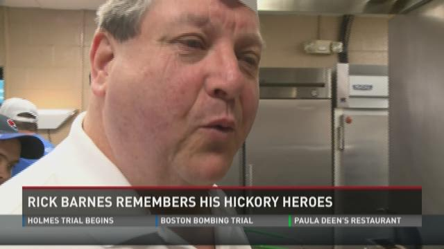 Rick Barnes Hickory Heroes