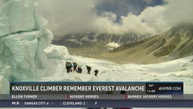 Knoxvillian recalls 2014 Everest avalanche