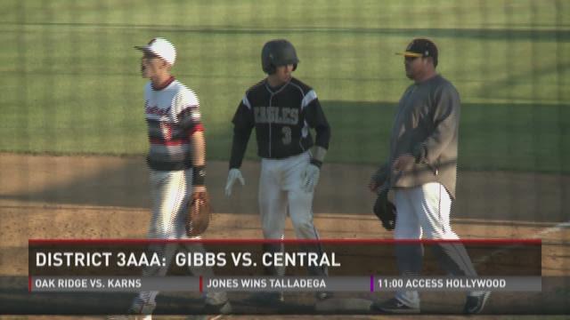 District 3-AAA baseball at Karns