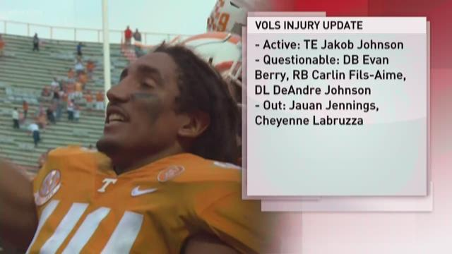 Tennessee OL Jack Jones to end his career due to injuries