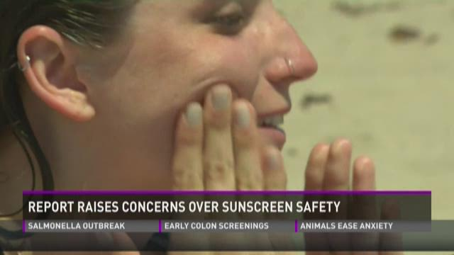 Don't forget the sunscreen!