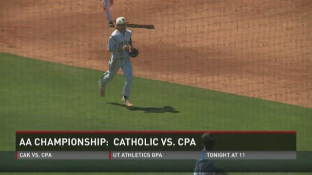 Catholic falls in title game