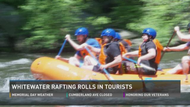 Whitewater rafting attracts visitors to Cocke County