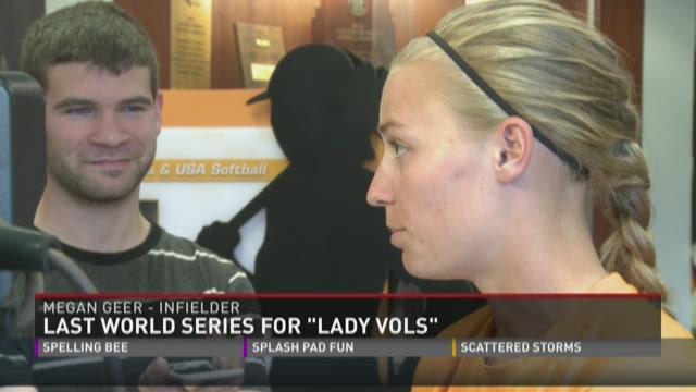 Last World Series for 'Lady Vols'