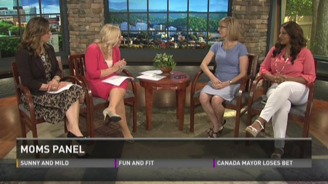 Moms panel talks about this week's hot parenting topics
